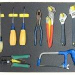tools in foam